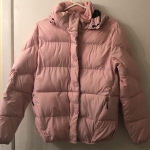 Hunter Pink Puffer Coat